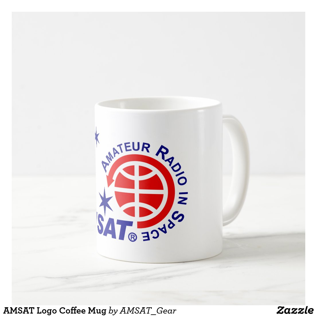 AMSAT Logo Coffee Mug