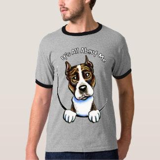 AmStaff Brindle IAAM T-Shirt