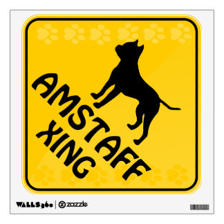 Amstaff Crossing [Xing] Wall Graphic