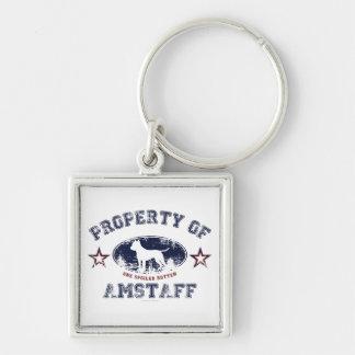 Amstaff Key Chains