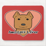 Amstaff Lover Mouse Mats
