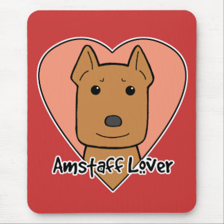 Amstaff Lover Mouse Pad