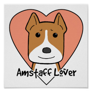 Amstaff Lover Poster
