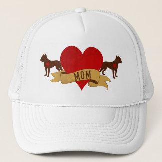 Amstaff Mom [Tattoo style] Trucker Hat