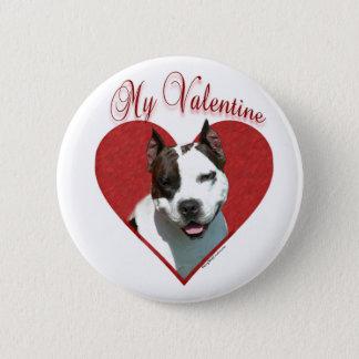 AmStaff My Valentine - Button