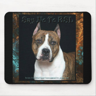 Amstaff No BSL Mouse Pad