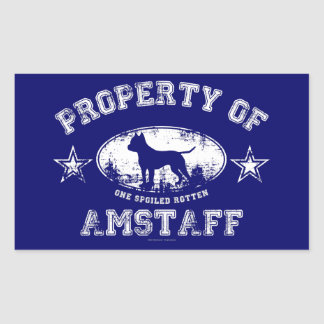 Amstaff Stickers