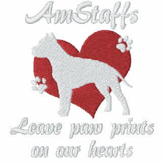 AmStaffs Leave Paw Prints