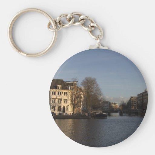 Amstel River, Amsterdam Key Chains