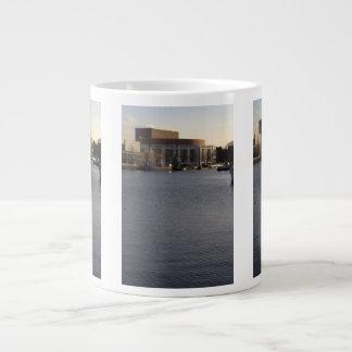 Amstel River and Amsterdam Music Hall Jumbo Mugs