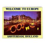 AMSTERDAM 1, AMSTERDAM, HOLANDA,… - modificado Calendario