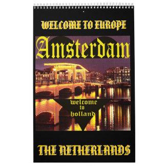 AMSTERDAM 1, AMSTERDAM, HOLLAND , ... - Customized Calendar