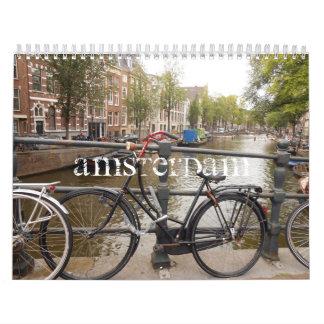 Amsterdam 2014 - Calendario impreso personalizado
