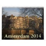 Amsterdam 2014 wall calendar