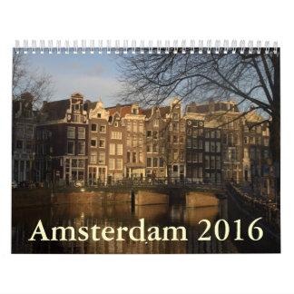 Amsterdam 2016 calendar