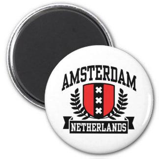 Amsterdam 2 Inch Round Magnet