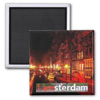 AMSTERDAM 2 INCH SQUARE MAGNET