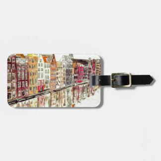 Amsterdam Bag Tag