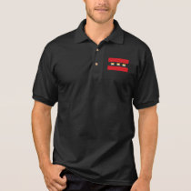 Amsterdam Bear Pride X Black Polo Shirt