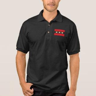 Amsterdam Bear Pride X Black Polo Shirt