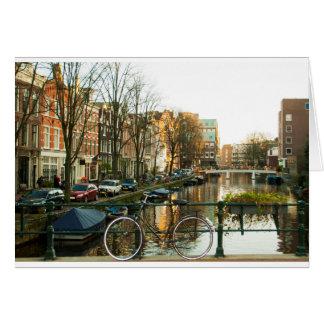 Amsterdam Bicicle Card