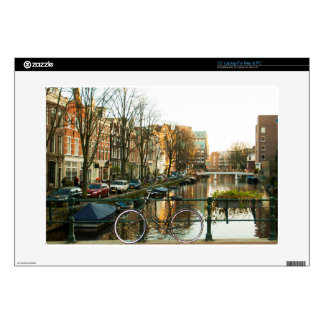 Amsterdam Bicicle Decal For Laptop
