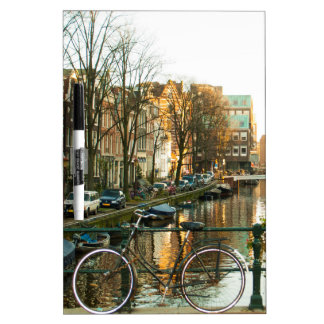 Amsterdam Bicicle Dry-Erase Board