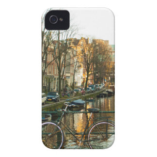 Amsterdam Bicicle iPhone 4 Case-Mate Case