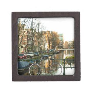 Amsterdam Bicicle Keepsake Box