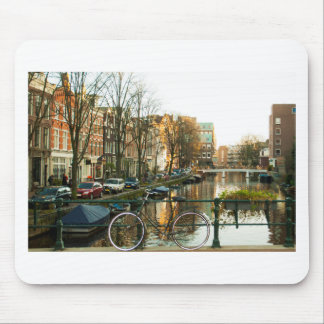 Amsterdam Bicicle Mouse Pad