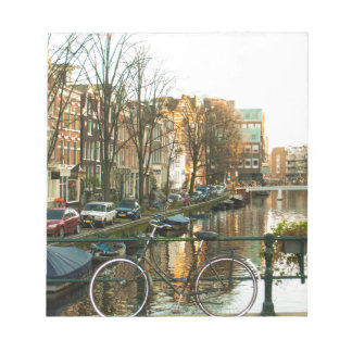 Amsterdam Bicicle Notepad