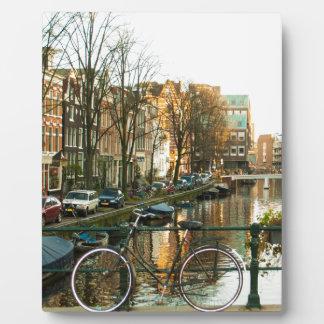Amsterdam Bicicle Plaque