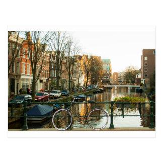 Amsterdam Bicicle Postcard