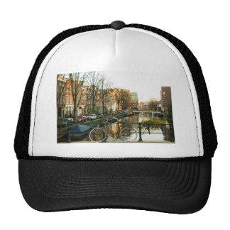 Amsterdam Bicicle Trucker Hat