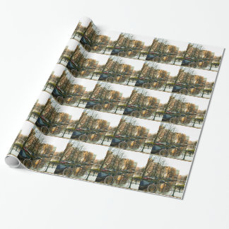 Amsterdam Bicicle Wrapping Paper