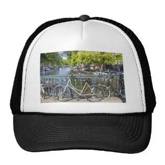Amsterdam canal mesh hats