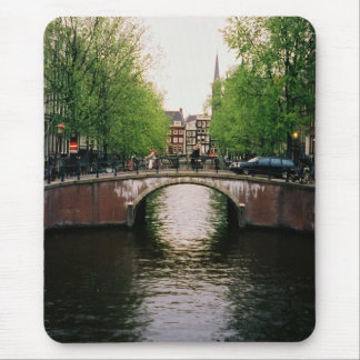 Amsterdam Canal Mouse Pad