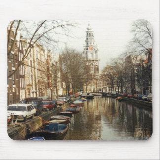 Amsterdam Canal Mousepad