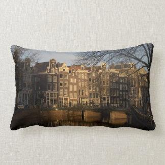 Amsterdam canals pillows