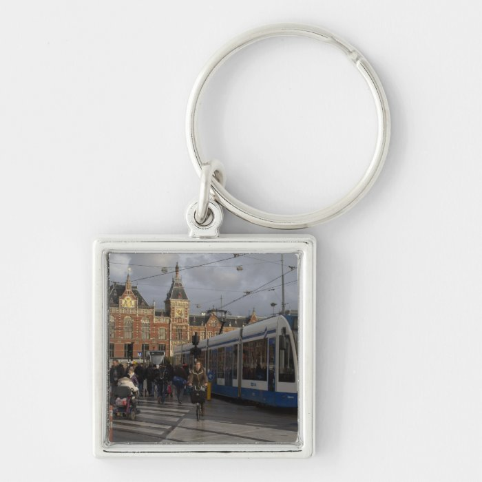 Amsterdam Central Station Keychain