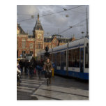 Amsterdam Central Station Post Card