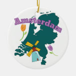 Amsterdam Ceramic Ornament