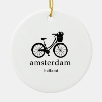 Amsterdam Ceramic Ornament