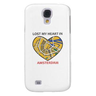 Amsterdam City Heart Iphone case2 Galaxy S4 Case