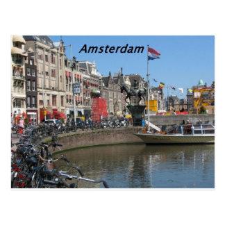 Amsterdam -City-[kan.k]. Postcard