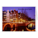 Amsterdam, City of Lights (by St.K.) Greeting Cards