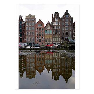 Amsterdam city postcard