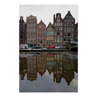 Amsterdam city poster