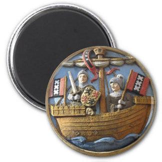 Amsterdam City Seal Fridge Magnet