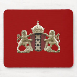 Amsterdam City Symbol Mousepad